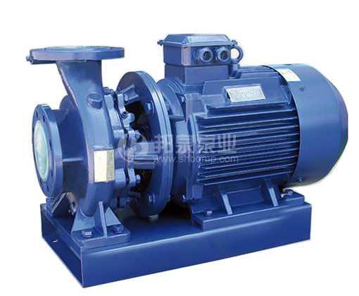 BQW/ISW卧式管道增压泵-管道循环泵