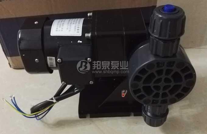 JWM-A隔膜计量泵PVC泵头