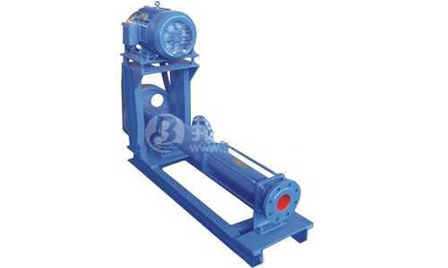 背包式(皮带轮)驱动螺杆泵