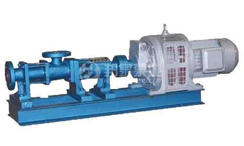 电磁调速电机驱动螺杆泵
