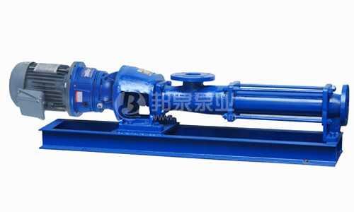 带减速机齿轮定速螺杆泵