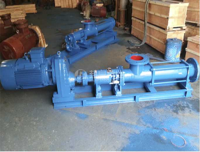 G型带齿轮减速机螺杆泵