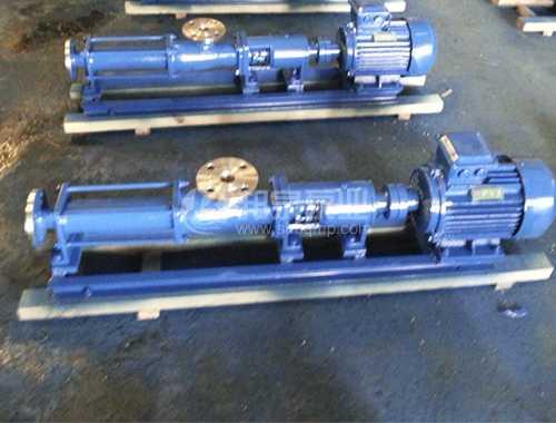G系列整体不锈钢单螺杆泵