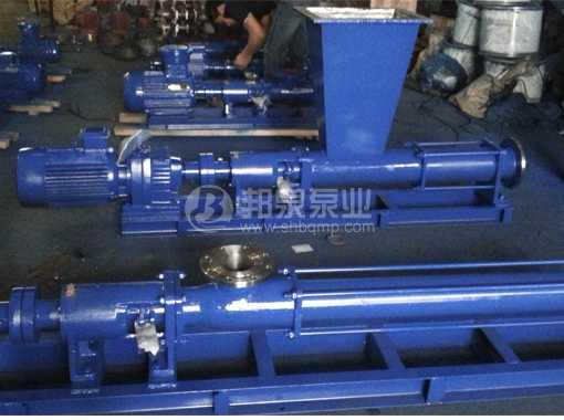G型漏斗式进料单螺杆泵