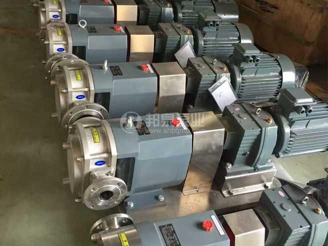 法兰接口不锈钢凸轮转子泵