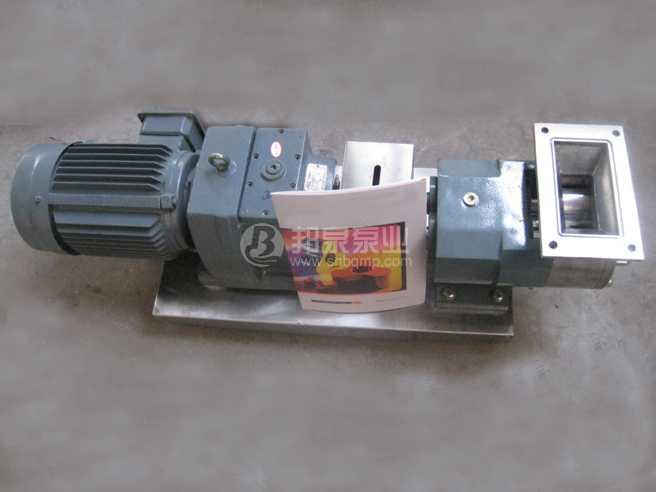 LQ3A/ZB3A不锈钢凸轮转子泵