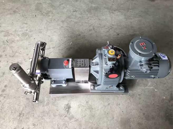 防爆不锈钢凸轮转子泵