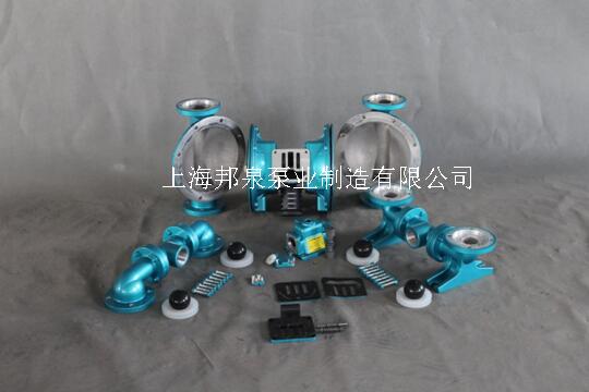 SKYLINK斯凯力隔膜泵拆解两侧外腔体