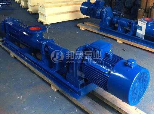 上海邦泉泵业带减速机G85-1螺杆泵