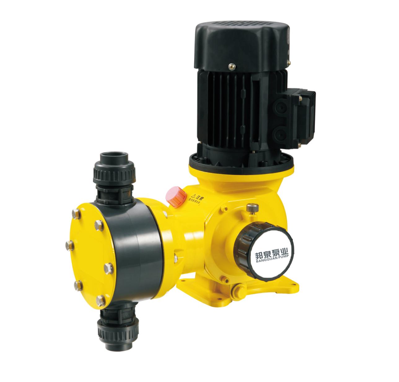 上海邦泉泵业JXM机械隔膜式计量泵