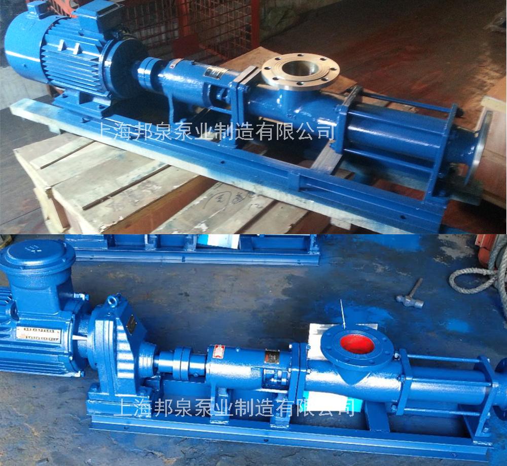 上海絮凝剂投加螺杆泵 G型单螺杆泵