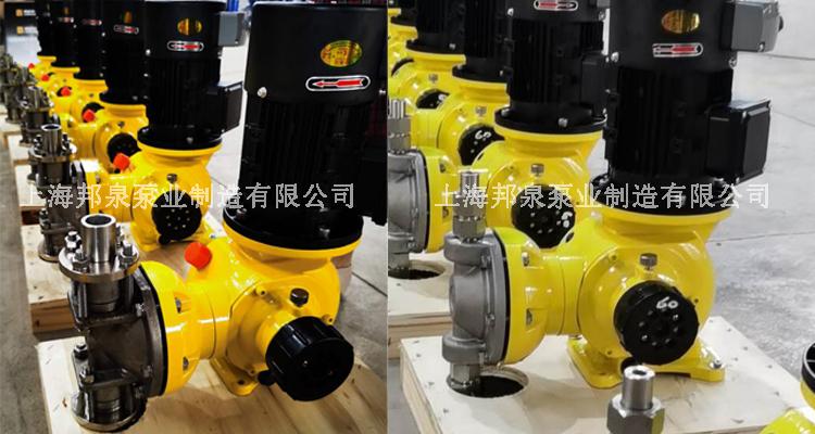 不锈钢防爆变频计量泵 不锈钢变频防爆机械隔膜计量泵